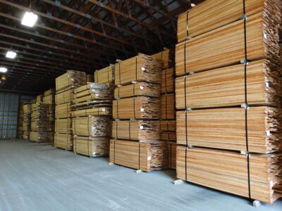 Over one million board feet of kiln dried lumber is stored in Abenaki's insulated dry storage buildings.