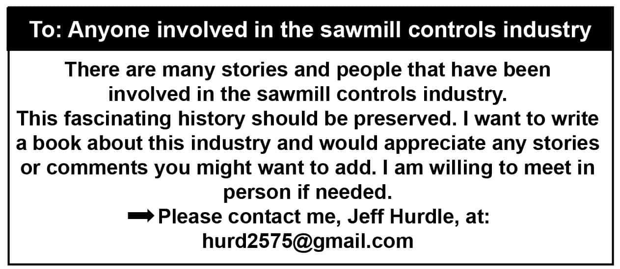 Sawmill Control