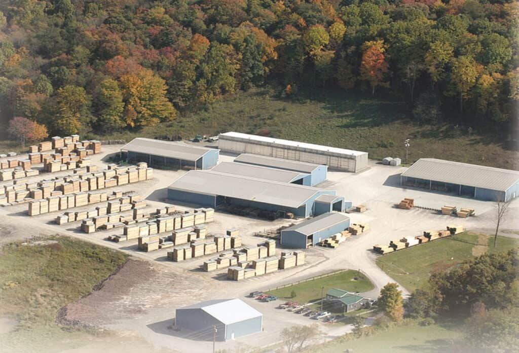Abenaki's Belington, WV facility, located in the northern central mountains of the state, provides an abundance of fine native White Ash, Basswood, Beech, Birch, Cherry, Hard and Soft Maple, Hickory, Yellow Poplar and Appalachian Red Oak.