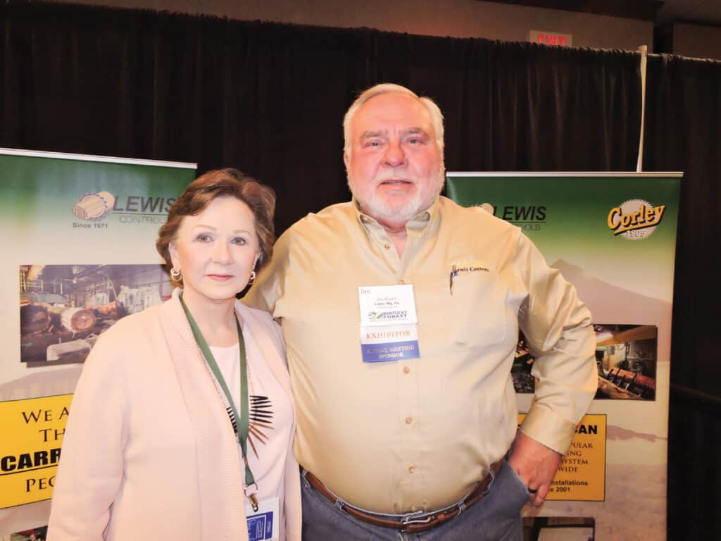 Donna and Jim Burris, Corley Manufacturing Co., Chattanooga, TN