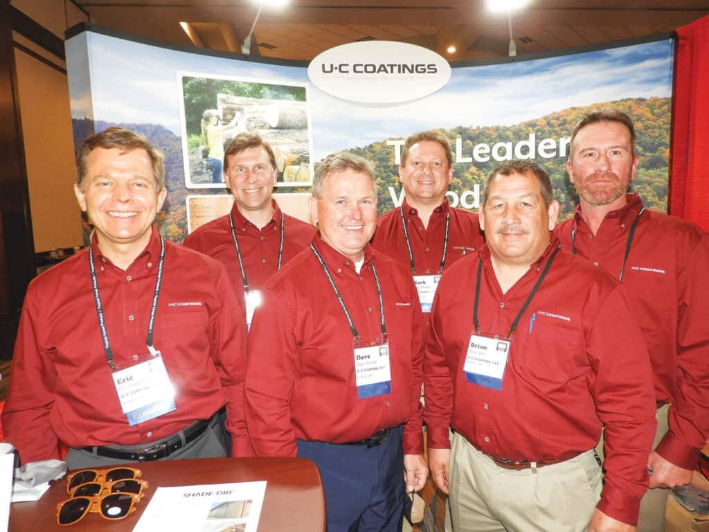 Eric Degenfelder, Chris Fehr, Dave Sondel, Mark Metzger, Brian Bila and Jason Goodman, U-C Coatings LLC, Buffalo, NY