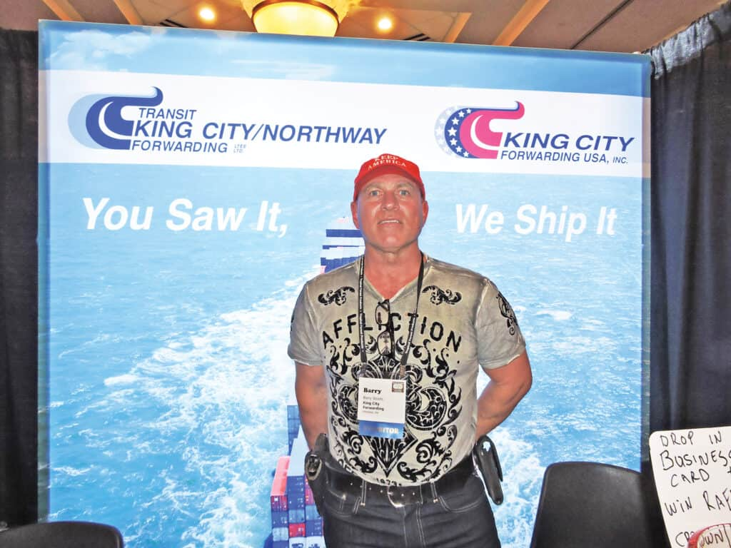 Barry Stoots, King City Forwarding USA Inc., Pittsfield, MA