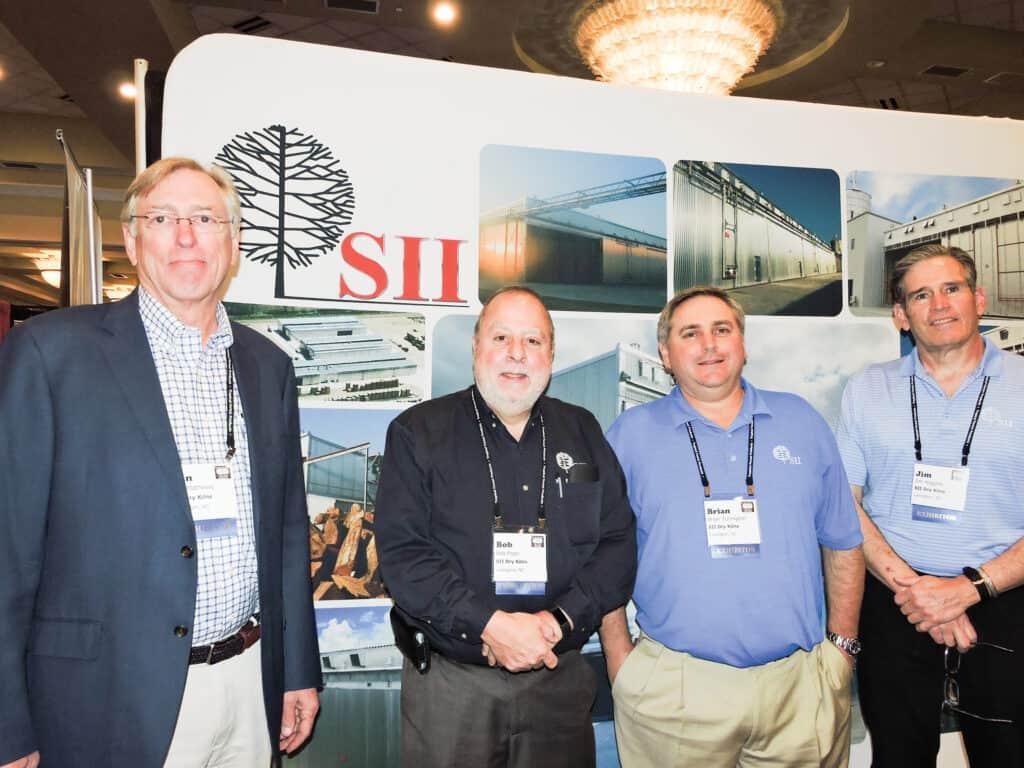Dan Mathews, Bob Pope, Brian Turlington and Jim Higgins, SII Dry Kilns, Lexington, NC