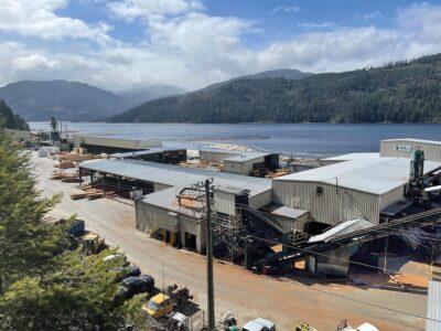 San Port Alberni: A & B Mill.
