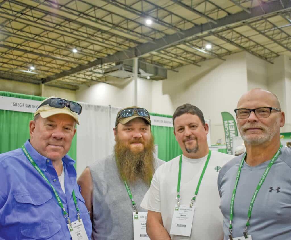 Burt Craig, Danny Smith, Jason Vandervort and Mark Booser, Matson Lumber Co., Brookville, PA