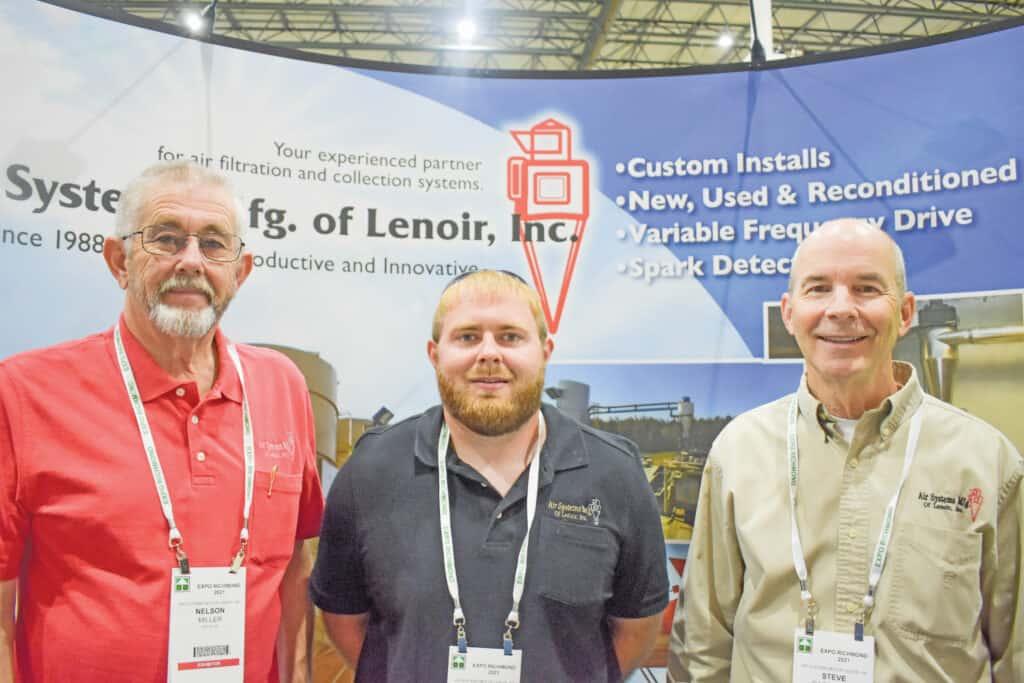 Nelson Miller, John-David Miller and Steve Dagenhart, Air Systems Mfg. of Lenoir Inc., Lenoir, NC