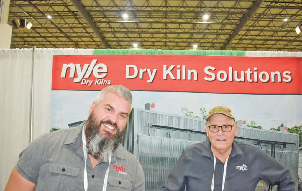 Jeremy Pitts and Byron Chute, Nyle Systems LLC, Brewer, ME