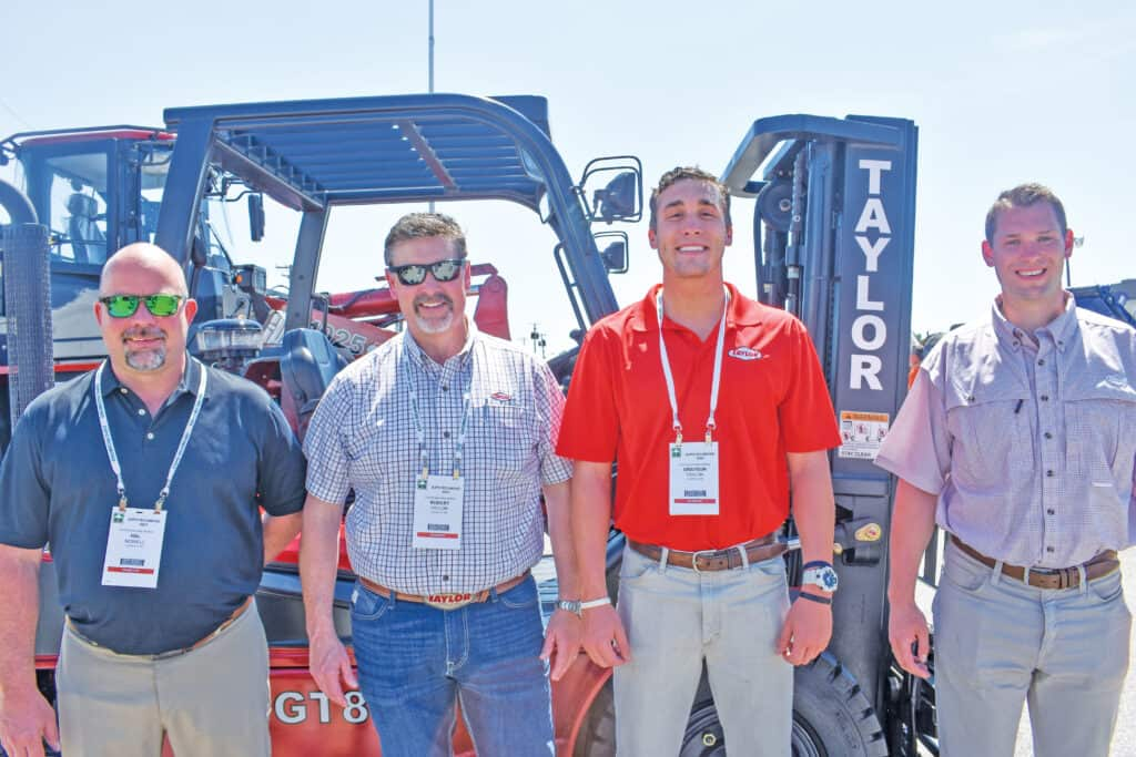 Hal Nowell, Robert Taylor, Grayson Taylor and Miles Johnson, Taylor Machine Works Inc., Louisville, MS