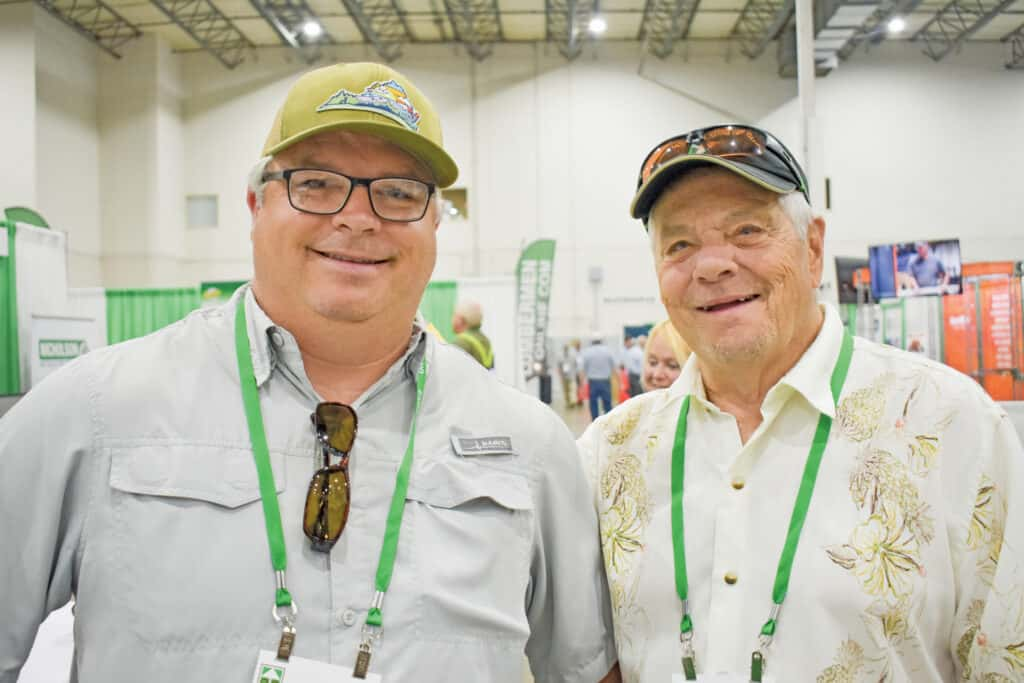 Shannon Garland and Tom Garland, Peakwood Forest Products LLC, Roanoke, VA