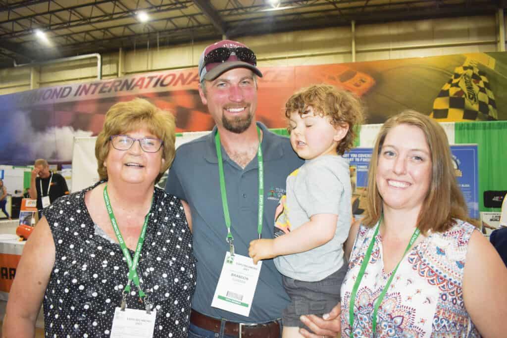 Wanda Turman, Brandon Turman, Alexander Turman and Katie Turman, Turman Sawmill Inc., Hillsville, VA