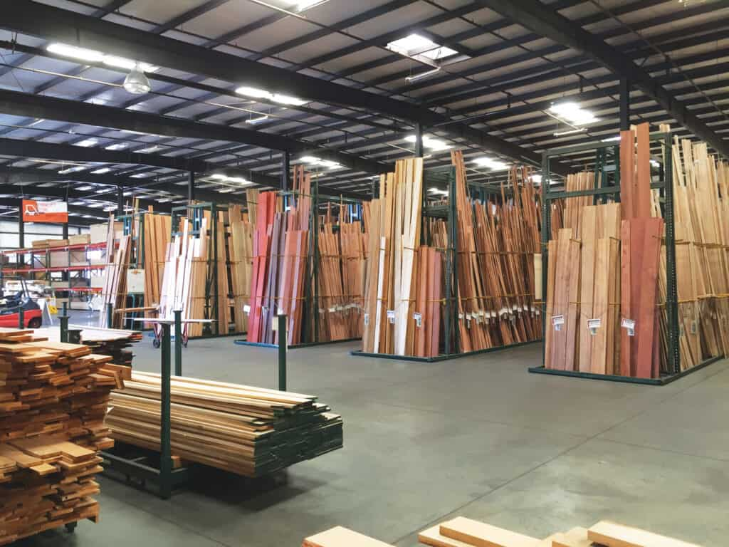 With over 40 years of experience, providing top quality Hardwood lumber, plywood, and moulding, Peterman Lumber Inc. is among the largest, most efficient suppliers of architectural lumber products.