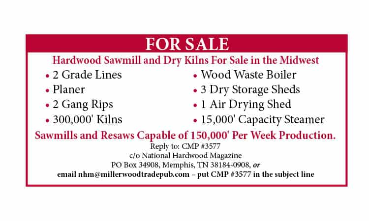 Classified ad sawmill for sale