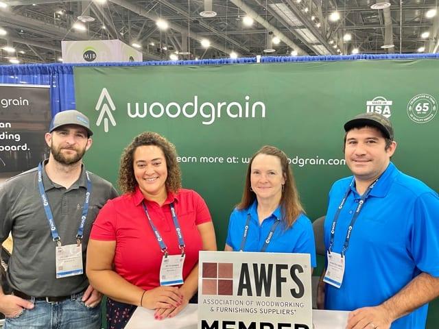 Jacob Locken, Beth Banks, Mickey Gossi and Ryan Escobar, Woodgrain Lumber & Composites, Meridien, ID