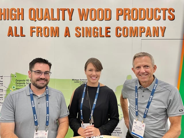 Chris Knowles, Sara Anderson and Pat Lynch, Timber Products Co., Springhill, OR
