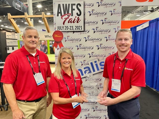 Ryan Phillips, Julie Solomon and Chad Carlson, Roseburg Forest Products, Springfield, OR