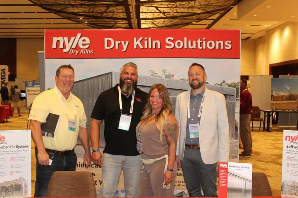 Howard J. Greene, Atlantic Logistics Inc., Jacksonville, FL; Jeremy and Kim Pitts, Nyle Systems LLC, Lenoir, NC; and Jeremy Howard, Nyle Systems LLC, Brewer, ME