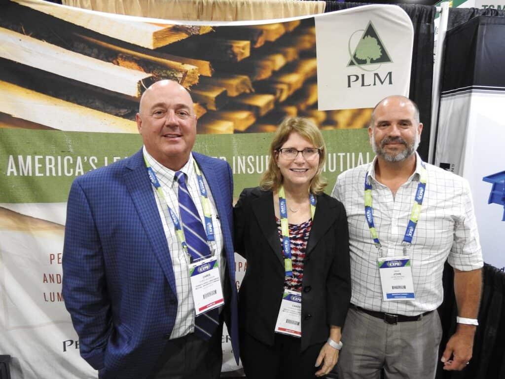 Chris Jacobson and Candy Hower, PLMI, Philadelphia, PA; and John Hester, NHLA, Memphis, TN