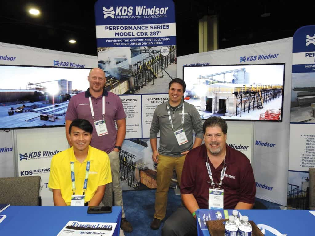 Standing, left to right: Patrick Godfrey and Nick Girardi, KDS-Windsor, Hendersonville, NC; Seated, left to right: Michael Chen and Stuart Pinkerton, KDS-Windsor