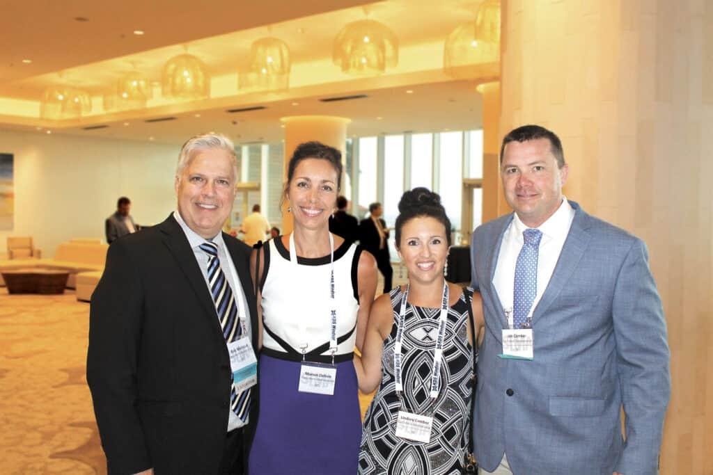 Eric Michaud and Manon Delisle, Carbotech International Inc., Sarasota, FL; and Lindsey and Jon Comber, Carbotech International Inc., Dover-Foxcroft, ME