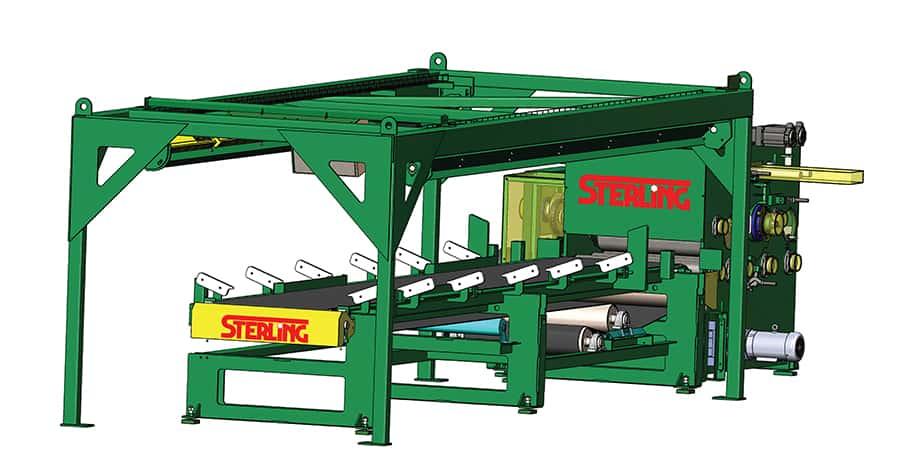 The Sterling YieldBoss Hybrid Edger System