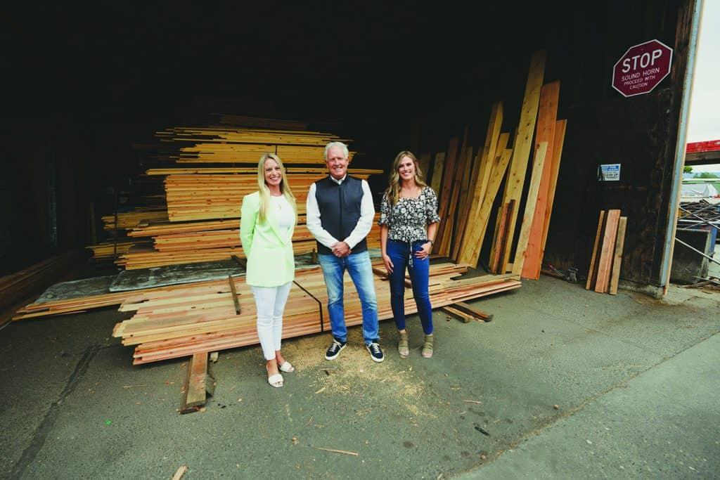 An EBPA member Calvert Co. Inc., from left are: Michelle Burbank EBPA; Doug Calvert, President; Brittany Coltrane, Sales Manager.