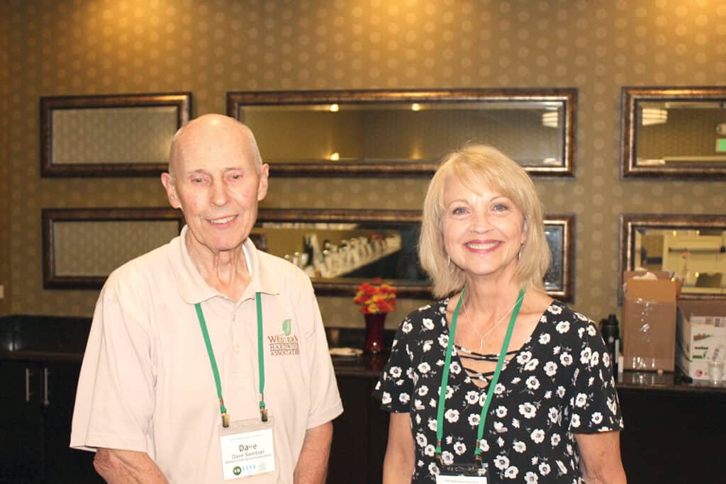 Dave Sweitzer and Kristine Durr, Western Hardwood Association (WHA), Camas, WA
