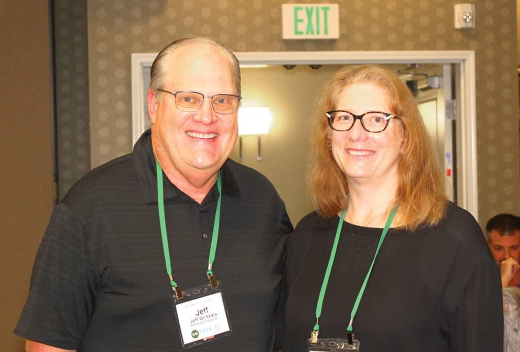 Jeff Wirkkala, Hardwood Industries Inc., Sherwood, OR; and Dana Lee Cole, Hardwood Federation, Washington, DC