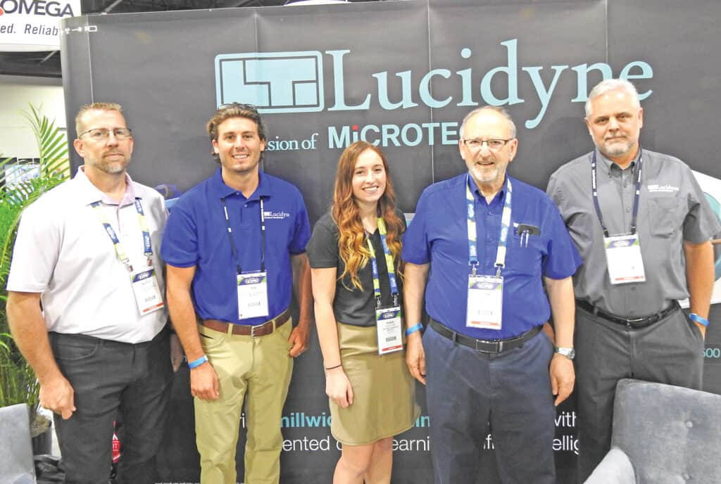 Marcus Trisdale, Bob Bell, Kenzie Hand, John Rhea and Chris Cournyer, Lucidyne, A Division of Microtec, Corvallis, OR