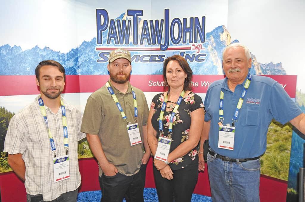 James Morton, Tyler Stiles, Justina Smiley and Steve Johnson, Paw Taw John Services Inc., Rathdrum, ID