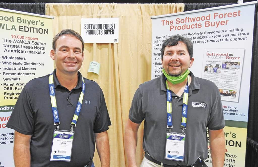 John Hurdle and Jeff Hurdle, Hurdle Machine Works Inc., Moscow, TN