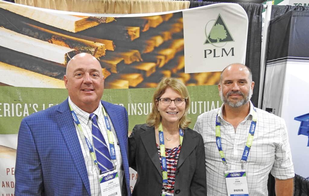Chris Jacobson and Candy Hower, PLM, Philadelphia, PA; and John Hester, NHLA, Memphis, TN