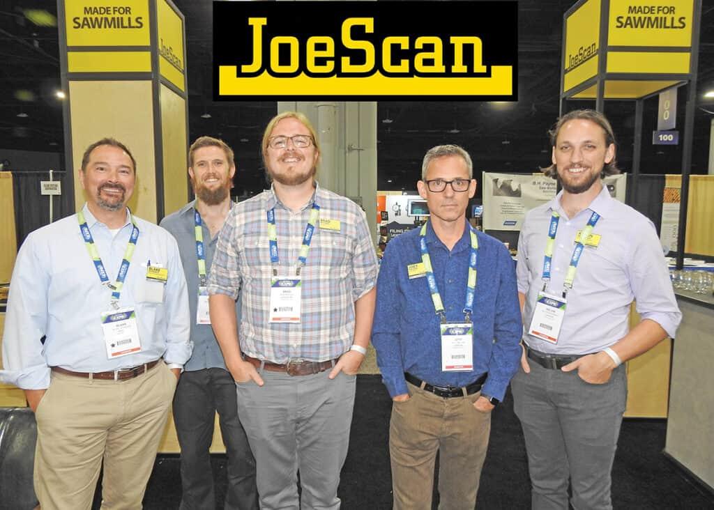 Blake DeFrance, Michael Reutman, Brad Michael, Joey Nelson and Kelvin McDonald, JoeScan, Vancouver, WA