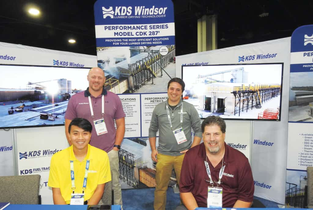 Standing: Patrick Godfrey and Nick Girardi, KDS-Windsor, Hendersonville, NC; and Seated: Michael Chen and Stuart Pinkerton, KDS-Winsor